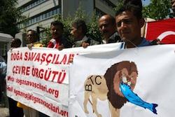 Fishermen protest in Ankara