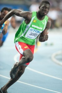 Kirani James, Grenada medal hopeful
