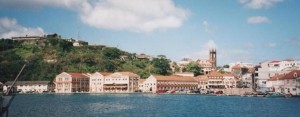 St Georges Grenada harbour