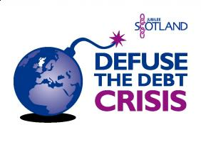Defuse the Debt Crisis logo