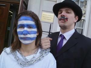 Drop Greek Debt