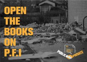 Open the books on PFI!